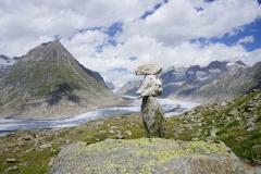 Tai-Chi-Zuerich-Steinturm-Vor-Gletscher